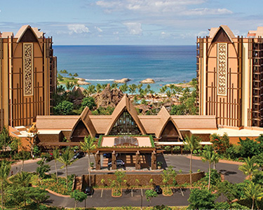 ハワイ Aulani  Disney Vacation Club Villas